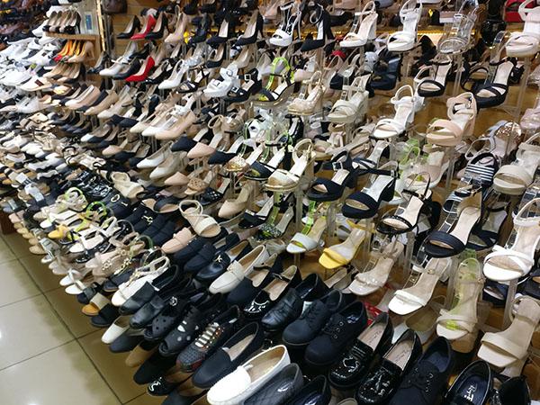 Shopping at Bupyeong in South Korea