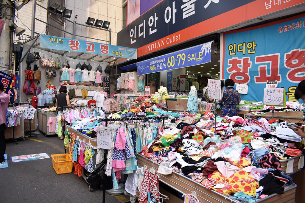 Namdaemun Market in Seoul, South Korea