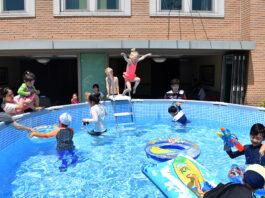 Swimming Primary Activity in Korea