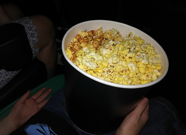 Popcorn Mix in Korea