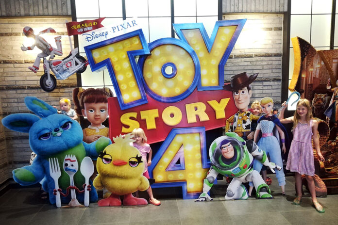 Toy Story 4 at the Movies in South Korea