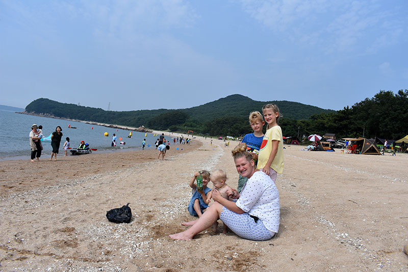 Incheon Beach: Muuido Island