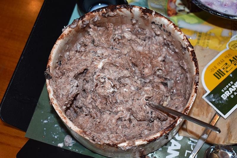 Brownie Bingsu Mixed up