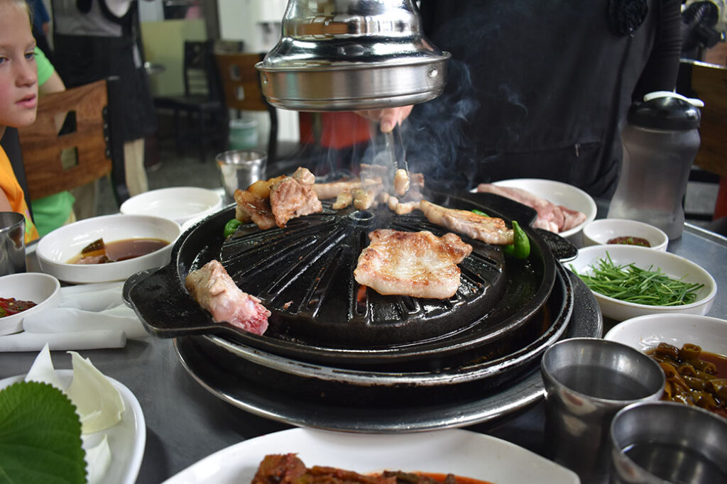 Best Korean BBQ in Incheon, South Korea: Buam Ribs