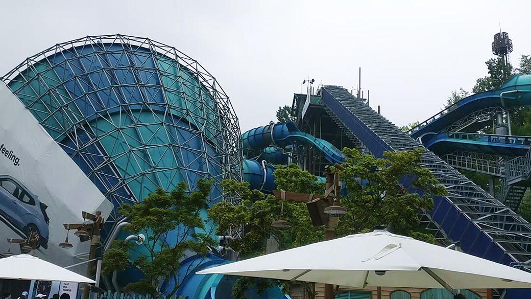 The Best Korean Water Park Ride: Megastorm