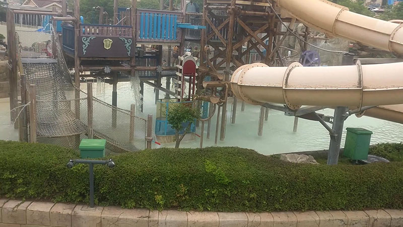 Caribbean Bay Korean Water Park Kids Play Area