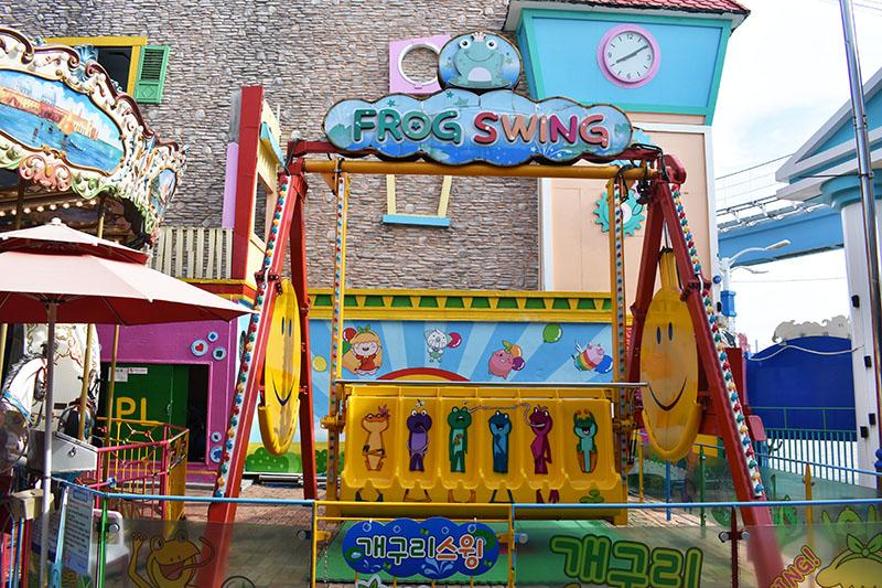 Wolmi Theme Park Rides