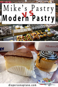 Comparing Cannoli in Boston, Massachusetts: Mike's Pastry vs Modern Pastry! Who wins?