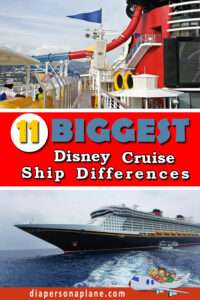 Comparing Disney Cruise Ships with everything you need to know to make a decision about which ship is right for your family!
