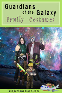 Tutorials for Family Halloween Costumes: Guardians of the Galaxy Costumes