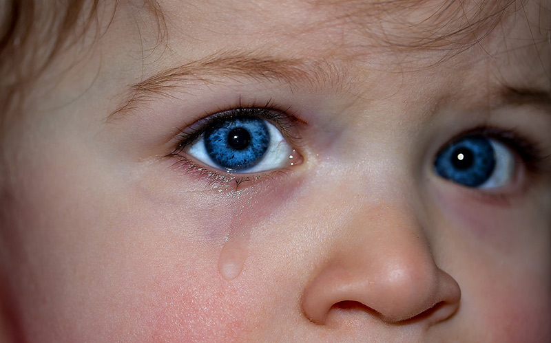 Child with Tears