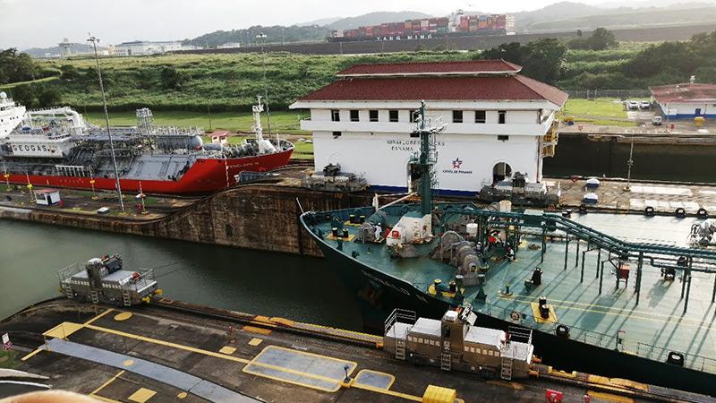 Miraflores Lockes Panama Canal