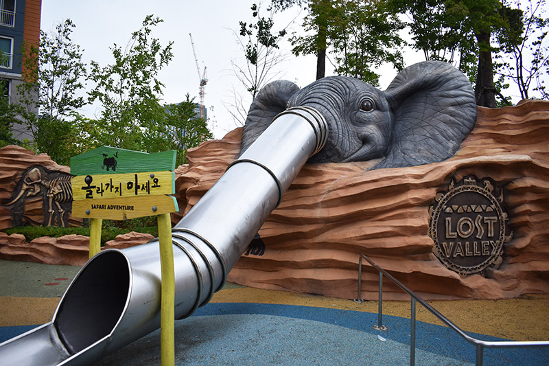Elephant Playground Korea with Kids