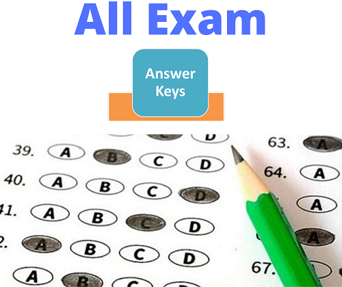 SSC CPO Sub Inspector Answer Key