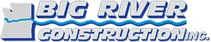 big river excavating logo