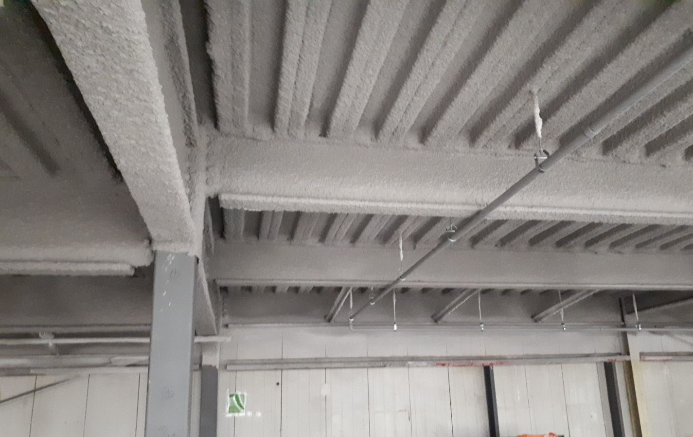 Commerical Fireproofing - Saint John DTI Building
