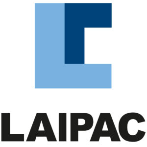 Laipac Transparent white logo