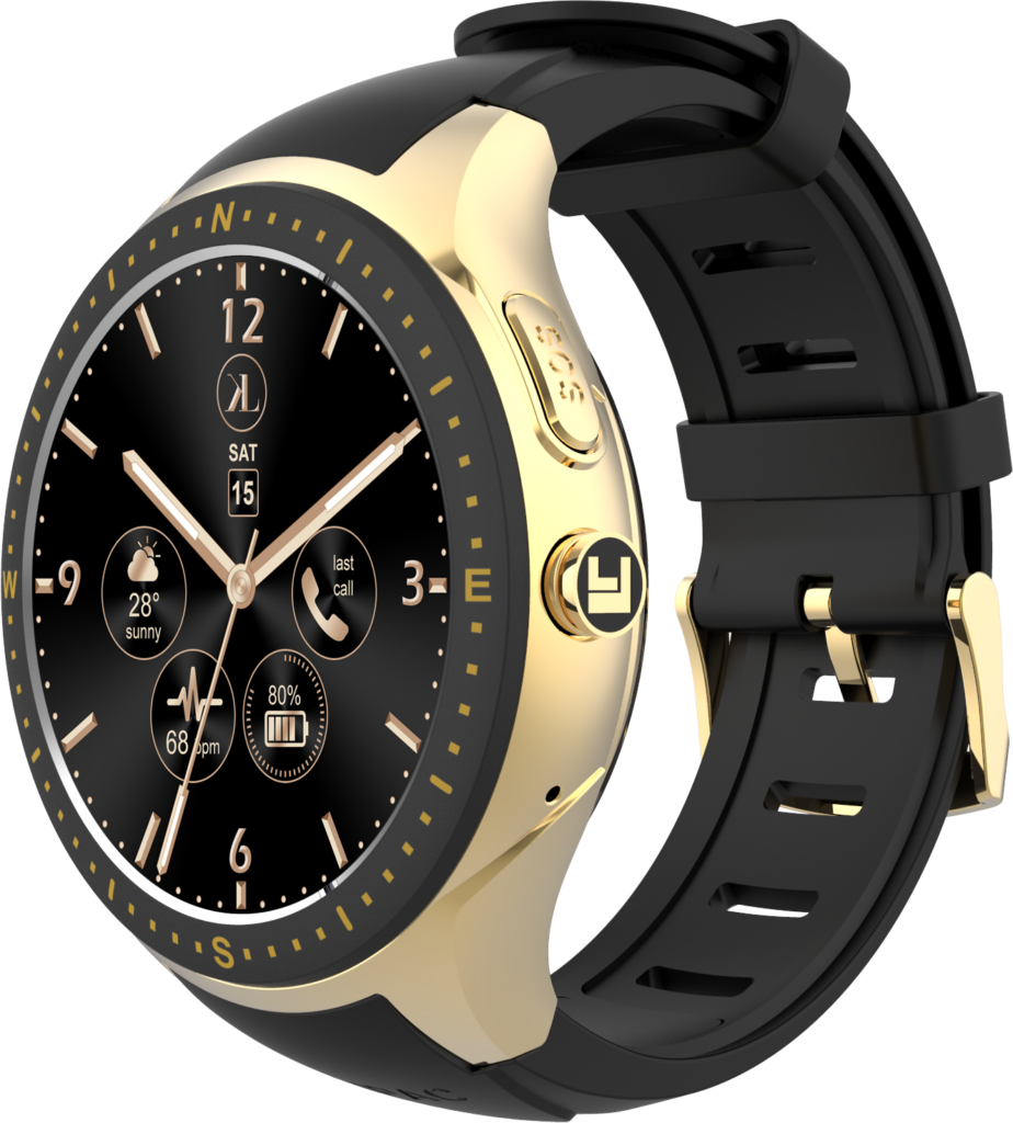 Gold-Black LooK Watch product image