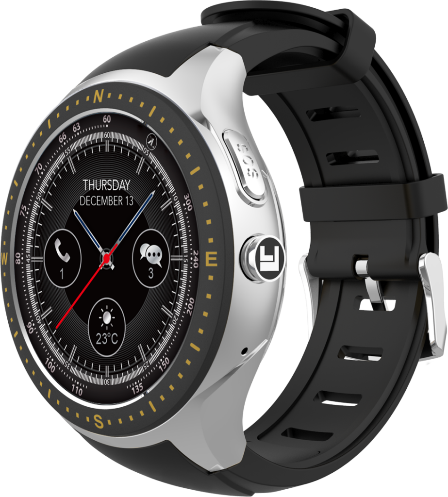 Silver-Black LooK Watch product image