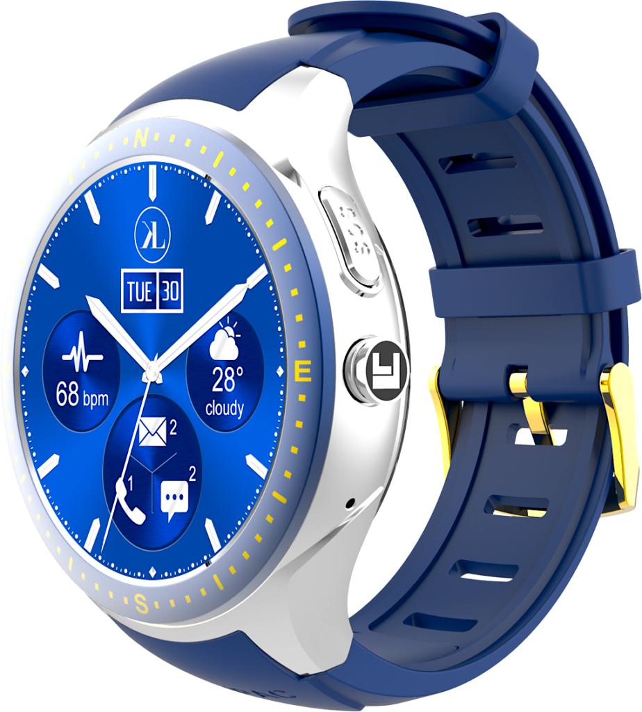 Silver-Blue LooK Watch product image
