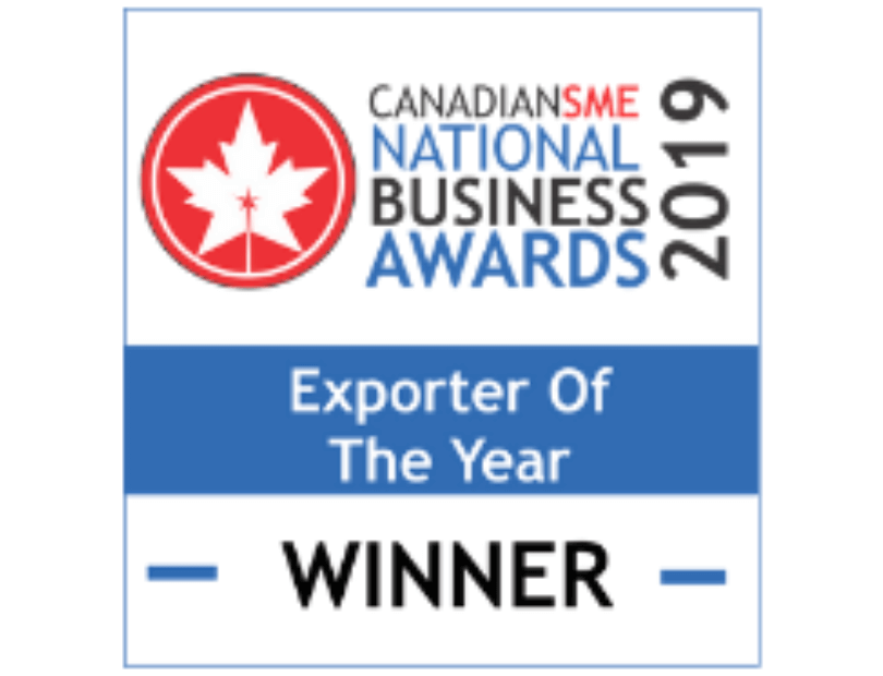 2019 Exporter of the Year Award Winner Logo