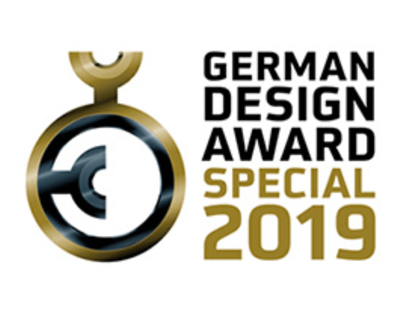 2019 German Design Award Winner Logo