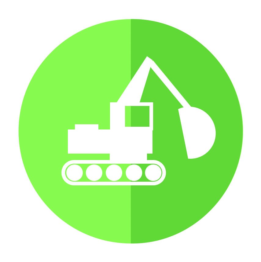 Construction Machinery Icon