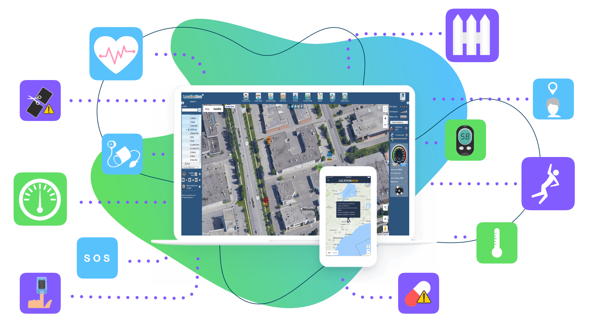 LocationNow for Remote Patient Monitoring