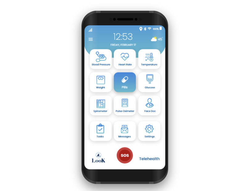 LooK Mobile App Product Picture