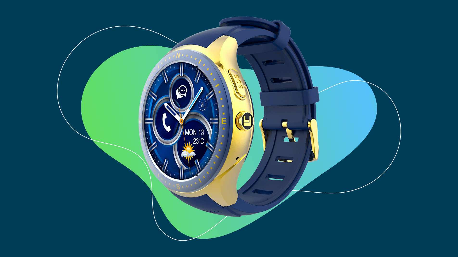 LooK Watch Smartwatch Product