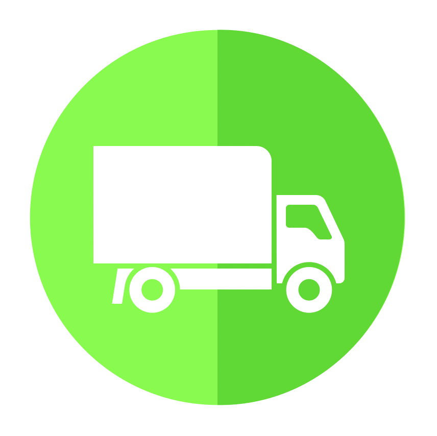 Tank Load Delivery Food Tow Truck Icon