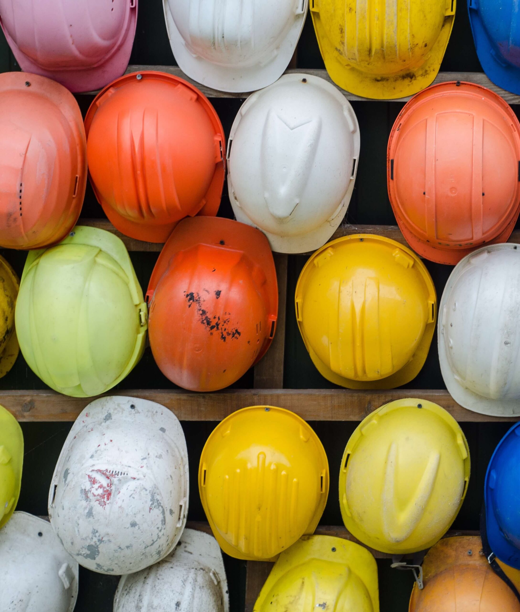 lone worker construction hats