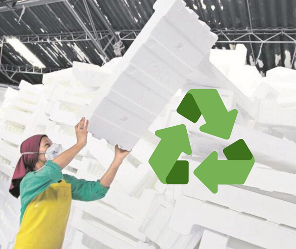 El unicel sí se recicla