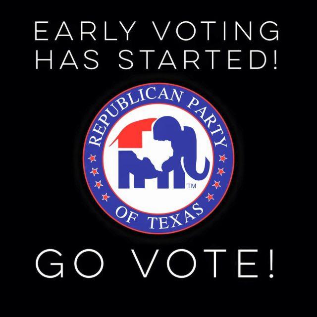 Go Vote, no excuses!