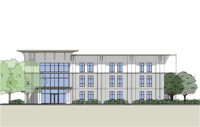 medical building rendering