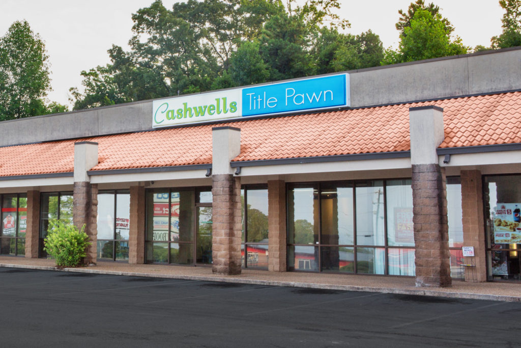 Cashwells Title Pawn - Victory Drive - Columbus, GA - sideview