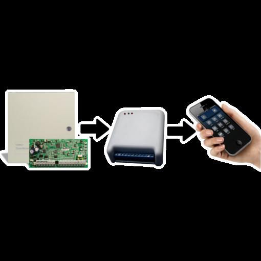 Alarma dsc y Discador GSM