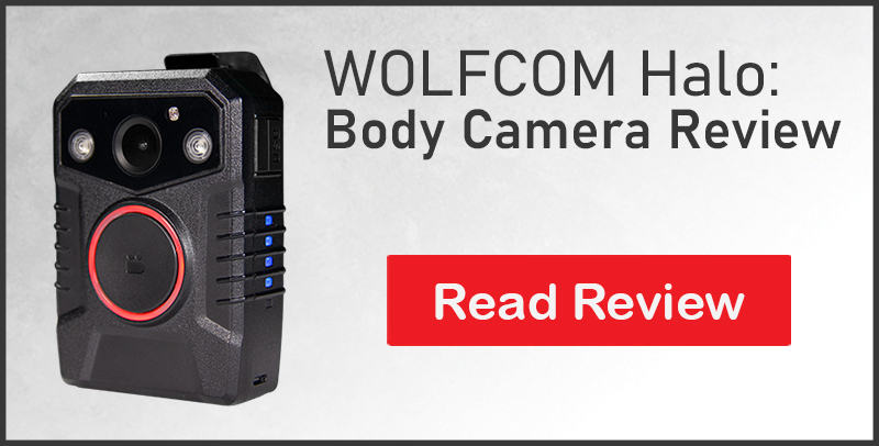 review of the wolfcom halo police body camera