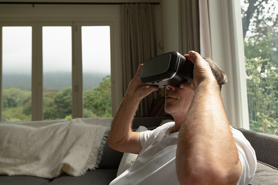 Virtual Reality Growing More Popular In Home Health Care