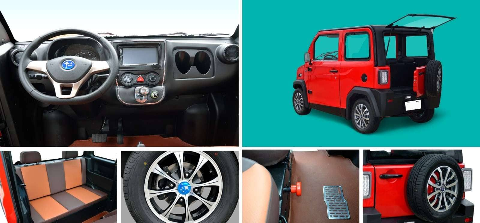 Maxi Sport Sedan and Suv collage interior and exterior