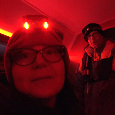 Sailing to Isle Royale in the Dark