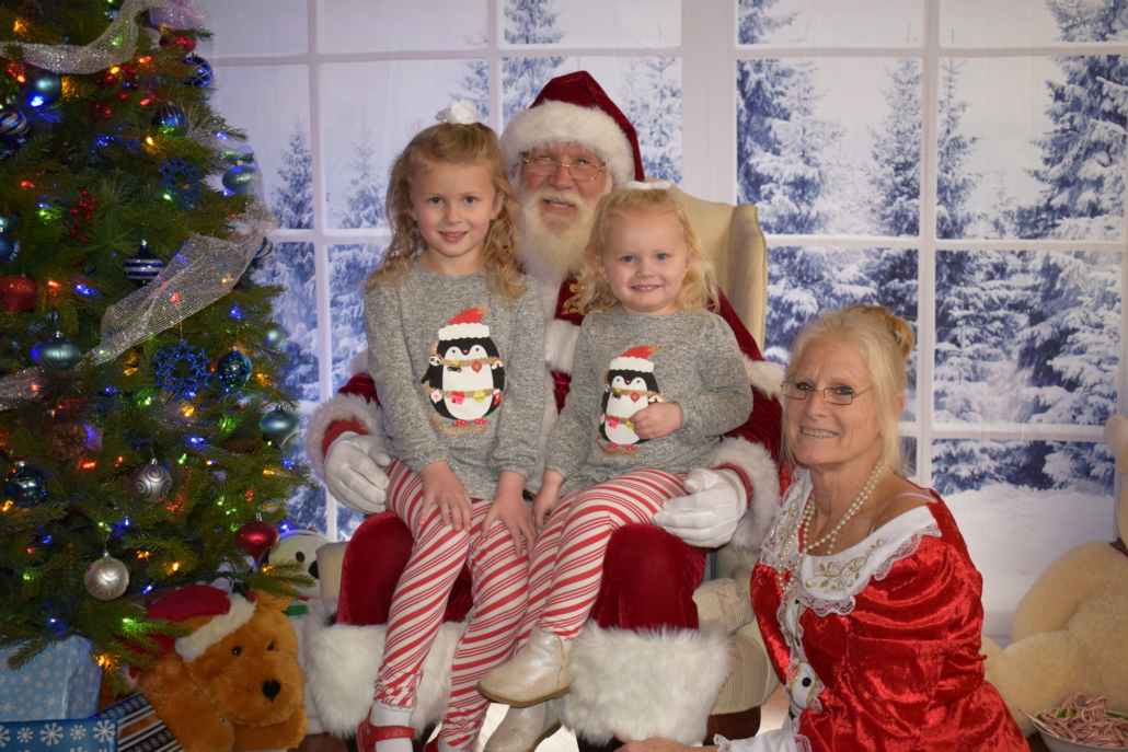 Santa at Universal