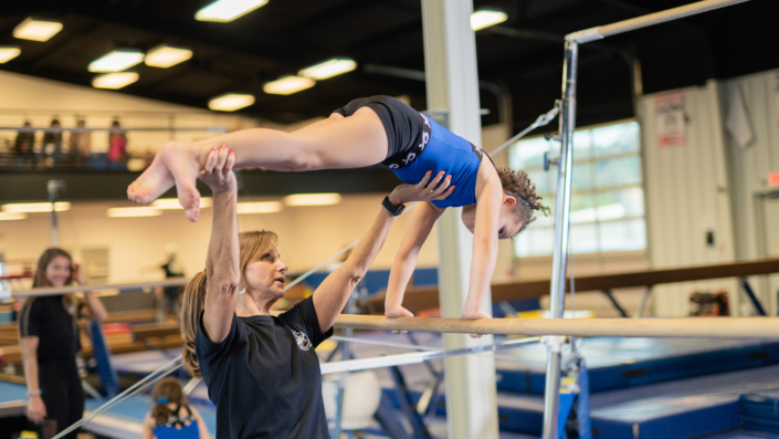 Universal Girls Competitive Team - bars