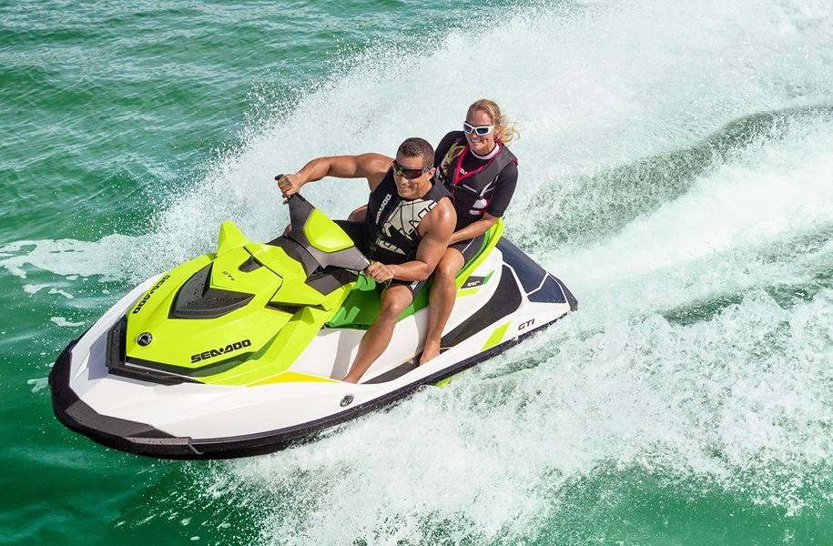 The all new Sea Doo GTI 130 Pro