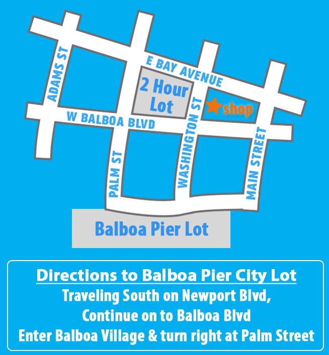 Newport Beach Parking Location in Balboa Village