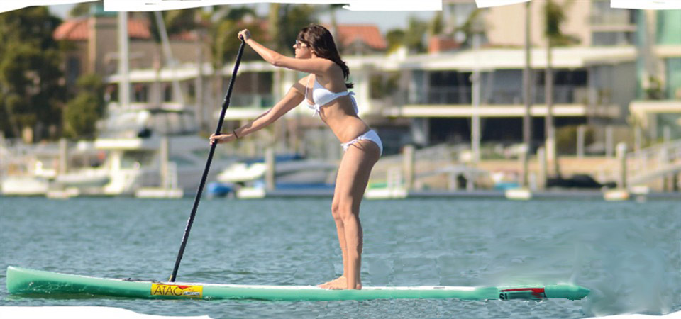 Stand Up Paddle Board in Newport Beach Harbor.