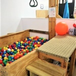 Ball Pit and Swing