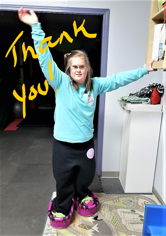 A NOTE OF THANKS FROM DARLENE