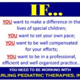 IMMEDIATE NEED for a Speech Therapist