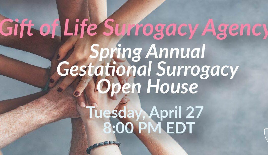 Gift of Life Surrogacy Open house